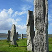 Looking West At Callanish Poster