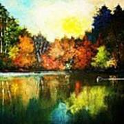 Autumn In Loon Country Ll Poster