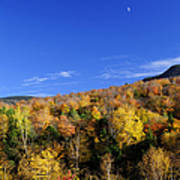 Loon Mountain Foliage Poster