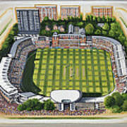 Lords Cricket Ground Poster