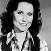 Loretta Lynn Smiling Poster by Retro Images Archive
