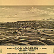 Los Angeles 1877 Poster