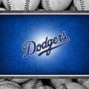 Los Angles Dodgers Poster by Joe Hamilton