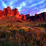 Lost Dutchmans State Park Arizona Poster