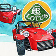 Lotus Seven Poster