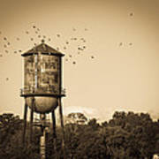 Loudon Water Tower Poster