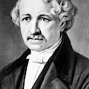 Louis Daguerre (1789-1751) Poster