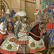 Louis Xii Leaving Alexandria Poster