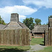 Louisiana Fort Poster