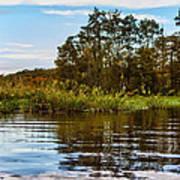 Louisiana Lake Poster