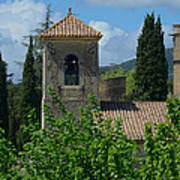 Lourmarin Castle In Provence Poster