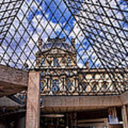 Louvre Museum Paris France Poster