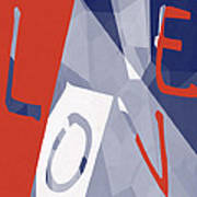 Love Abstract Poster