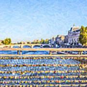 Love Across The Seine Poster