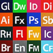 Love Adobe Poster