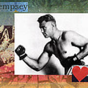 Love And War Dempsey Poster