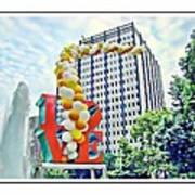 Love Balloons Poster