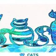 Love Cats Poster