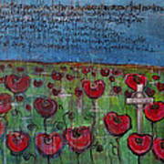 Love For Flanders Fields Poppies Poster