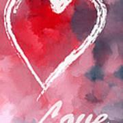Love Heart Poster