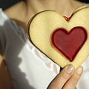 Love Heart Valentine Poster