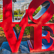 Love In City Park New Orleans Poster