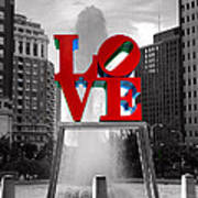 Love Isn't Always Black And White Poster