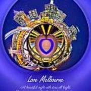 Love Melbourne Poster