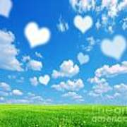 Love Nature Background Poster
