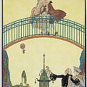 Love On The Bridge Poster