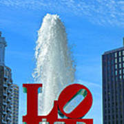 Love Park Poster by Olivier Le Queinec