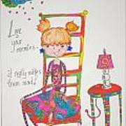 Love Your Enemies Poster by Mary Kay De Jesus