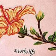 Lovely Hibiscus Poster