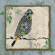 Lovely Song Bird-a Poster