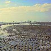 Low Tide At Siesta Beach Poster