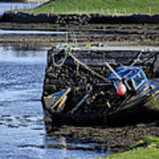 Low Tide Donegal Ireland Poster