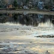 Low Water At Lake Garfield Poster