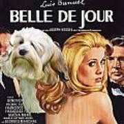 Lowchen Art - Belle De Jour Movie Poster Poster