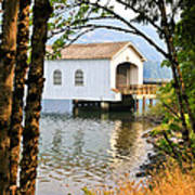 Lowell Covered Bridge Poster