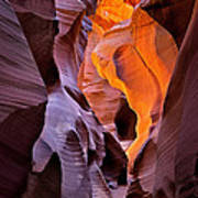 Lower Antelope Glow Poster