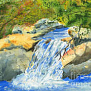 Lower Burch Creek Poster