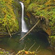 Lower Butte Creek Falls Poster