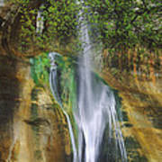 Lower Calf Creek Falls Escalante Grand Staircase National Monument Utah Poster