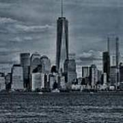 Lower Manhattan And The Freedom Tower Poster
