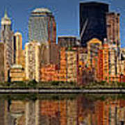 Lower Manhattan Skyline Poster