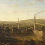 Lowerhouse Print Works, Burnley Poster
