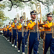 Lsu Marching Band 3 Poster