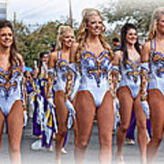 Lsu Marching Band 4 Poster