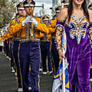 Lsu Marching Band 5 Poster by Steve Harrington