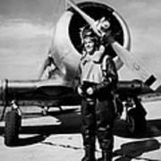 Lt. Robert Taylor, Usnr, Standing Poster